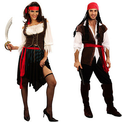Captain Jack Sparrow Pirates Caribbean Halloween Party Pirate Cosplay Costume