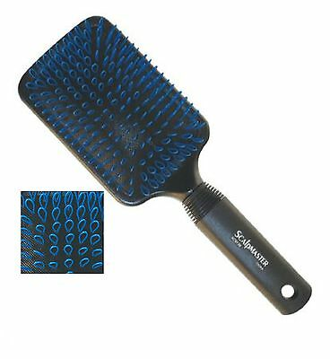 Hair Extension Cushion Paddle Hair Brush Professional Styling Tool/ Scalpmaster.