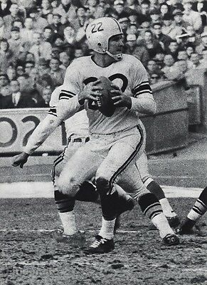 1950s Vintage Print NFL FOOTBALL Lions Texas BOBBY LAYNE Sports Photo Art 16x20