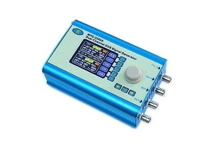 """2.4"""" LCD 20MHz Dual Channel DDS Function Signal Generator CNC Arbitrary Waveform"""