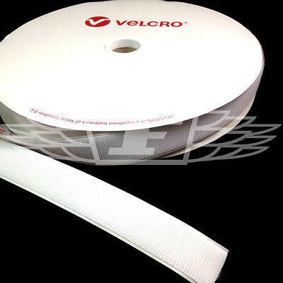 VELCRO® BRAND 10mm x 25 meters WHITE SELF ADHESIVE HOOK ONLY STICKY BACK TAPE