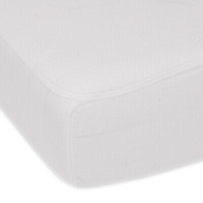 Super Soft Microfibre Fitted Mattress Protector - Double