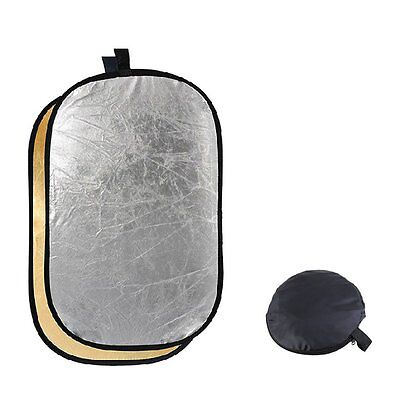 Godox 2-in-1 150*200cm Portable Oval Multi-Disc Reflector,Collapsible Diffuser