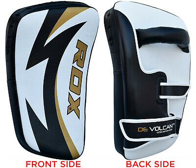RDX Kick Boxing Pad Strike Shield Punching Bag Curved Arm Focus MMA Muay Thai