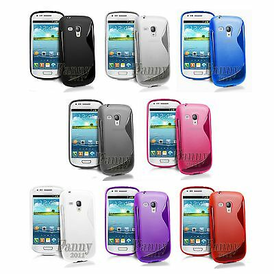 For Samsung Galaxy S3 mini VE, GT-i8200 Gel TPU Skin Case Cover