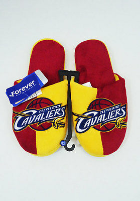 Cleveland Cavaliers NEW Slippers NBA Basketball Mens 13-14