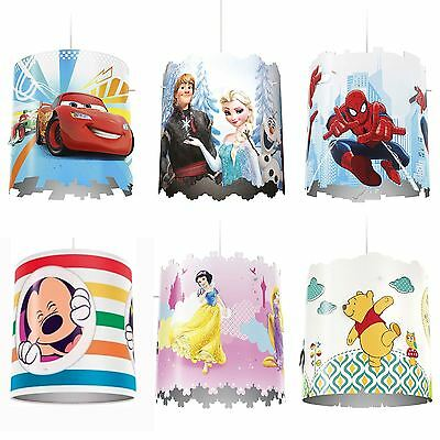 Childrens Character & Disney Bedroom Lighting Ceiling Pendant Shades By Philips