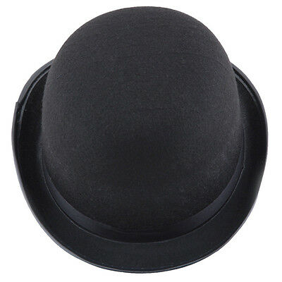 Black Hat Halloween Fancy Dress Props Magic Hat Cosplay Magician Jazz Hat Vogue