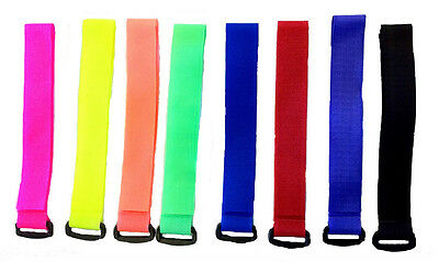 2 x SKI TIES - 30 MM WIDTH - KEEP YOUR SKIS TOGETHER WHEN ON THE MOVE.