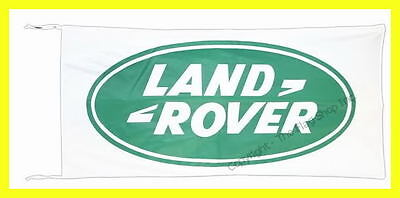 LAND ROVER BANNER FLAG defender freelander drapeau