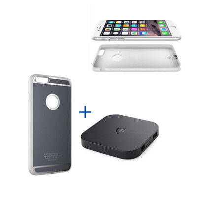 For Apple iPhone X/Xr/Xs/8P QI Wireless Charging Charger Pad with Receive CASE