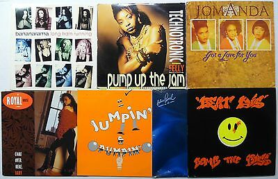 "HOUSE 12"" mixes lot of 15 #4976"