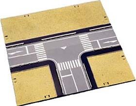 Kato 23-414 T-Intersection Road Plates (N scale)