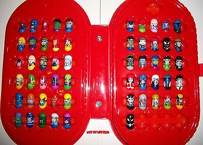 MARVEL Mighty Beanz 2003 2004 Series 1 COMPLETE Set Beans Lot NEW MINT