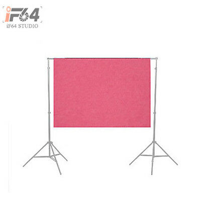 3 x 5 ft Solid Photography Screen Muslin Backdrop Photo Studio Background Pink