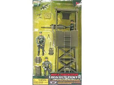 World Peacekeepers Lookout Tower & Figures
