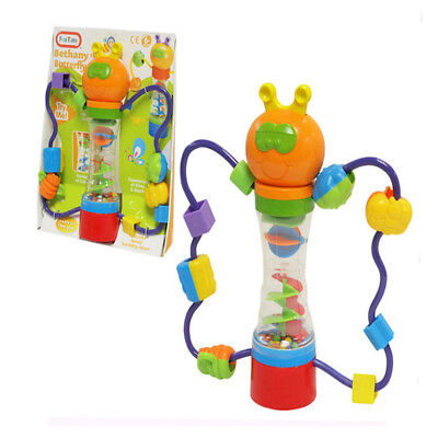 FunTime Bethany Butterfly Baby Toddler Activity Toy Rattle 6 Months +