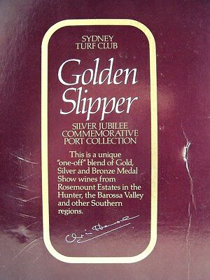 1982 release ROSEMOUNT GOLDEN SLIPPER Boxed Collection x 6 Isle of Wine • AUD 389.95