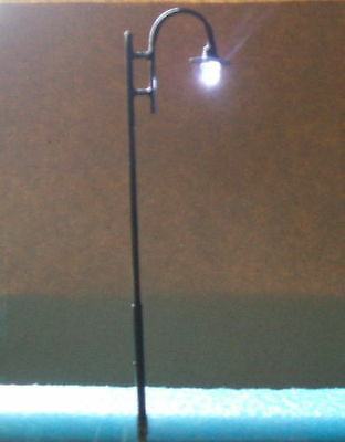 H57 ,10 model lampposts,White light led,135mm height,12 V,lamp,1:32