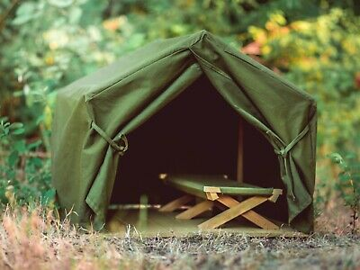 """Gombe Rainforest 18"""" Doll Camp Tent &Cot Fits American Girl Furniture &Accessory"""