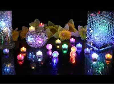 48 LED Tea Light Submersible Waterproof Battery ~ Wedding Decoration Party Favor