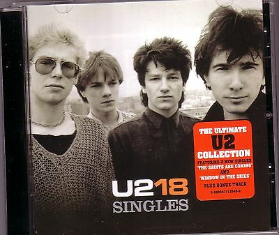 CD (NEU!) . U2 - 18 Singles (Best of U 2 / With or without you One Desire mkmbh