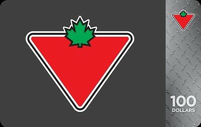 Canadian Tire Gift Card - $100 Mail Delivery