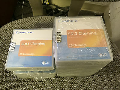Lot of 8 Quantum SLDT Cleaning Cartridges NEW