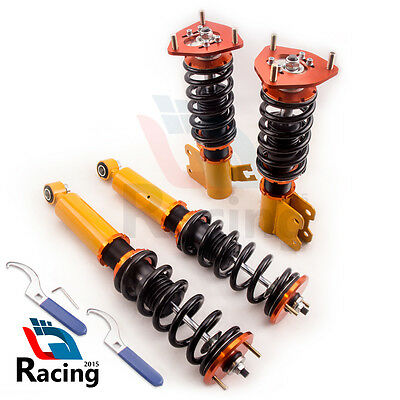 Coilover Spring Suspension Strut Kit for Nissan S13 200SX Silvia Sileighty 89-94