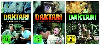 Daktari - Season/Staffel 2+3+4 * NEU OVP * DVD Set