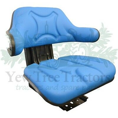 Tractor Suspension Seat Blue Forklift Dumper mower Universal *GREAT QUALITY*
