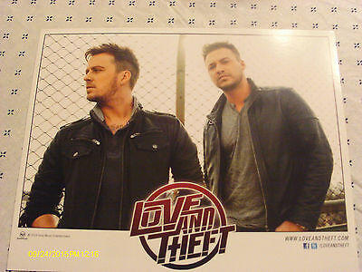 Love And Theft Color Publicity Photo