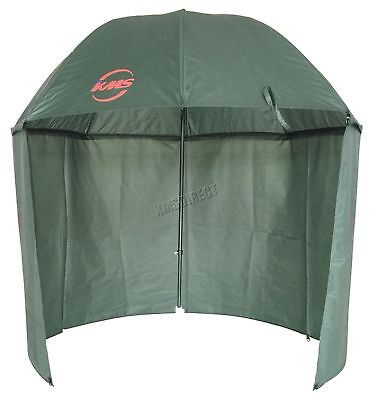 Outdoor Carp Fishing Camping 2.5M Top Tilt Umbrella Brolly Shelter Zipped Side