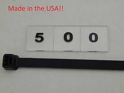 "500 Nylon Cable Ties 36"" 175# Tensil Duct Straps Uv Black Indoor Outdoor Wurth"