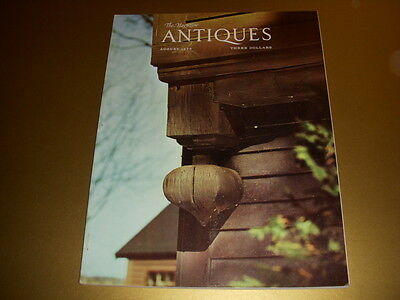 Vintage, THE MAGAZINE ANTIQUES, August 1975, AMERICAN BLOWN GLASS, STEUBEN GLASS