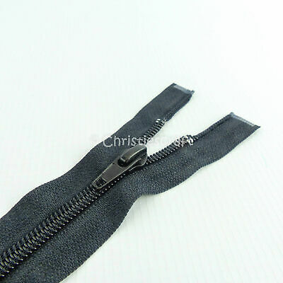 Nylon Open End Zip Choice of Size & Colour - Ideal For Jackets & Coats