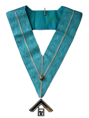 Highest Quality Masonic Past Master's Collar & Jewel