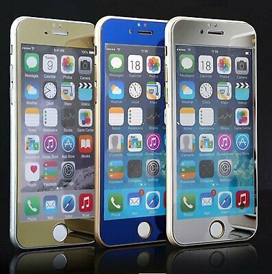 Mirror Effect Color HD Tempered Glass Screen Protector For iPhone 6S / 6S Plus
