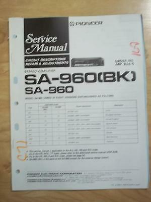 Original pioneer service manual for the sx 1500 bk receiver mp original pioneer service manual for the sa 960 amplifier mp fandeluxe Gallery