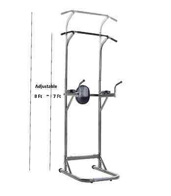 Chin Up Dipping Pull Up Station VKR Power Tower Sturdy Push Up Bar New in Box