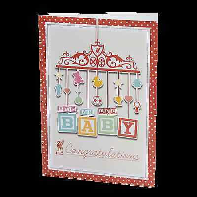 Liverpool FC  Liverpool New Baby Card Official