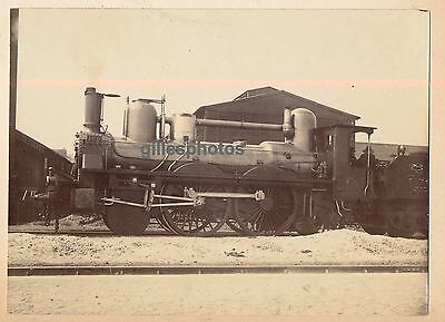 Locomotive P.O N° 102 c. 1880-90 -  Train - 65