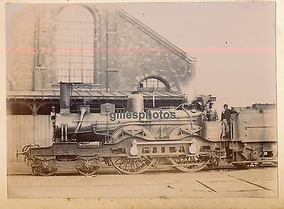 Locomotive N° 2841 c. 1880-90 - Chemins de Fer du Nord Train - 69