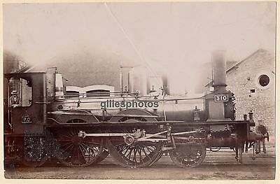 Locomotive P.O N° 310 c. 1880-90 -  Train - 71