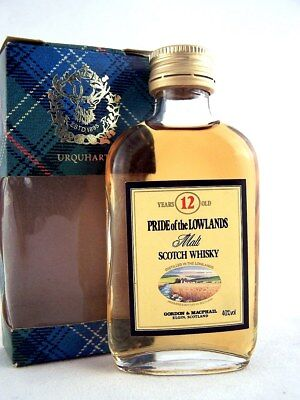 Miniature @ 1969 PRIDE of the LOWLANDS 12YO Malt Whisky Isle of Wine