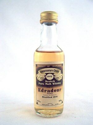 Miniature dated 1972 EDRADOUR Malt Whisky Isle of Wine