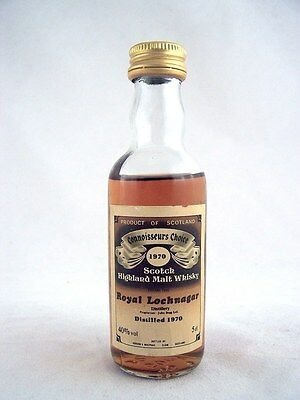 Miniature dated 1970 ROYAL LOCHNAGER Malt Whisky Isle of Wine