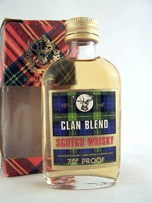 Miniature @ 1969 CLAN BLEND Scotch Whisky Isle of Wine
