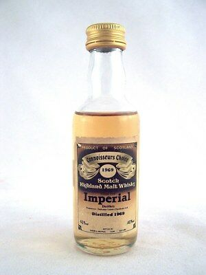 Miniature dated 1969 IMPERIAL Malt Whisky Isle of Wine