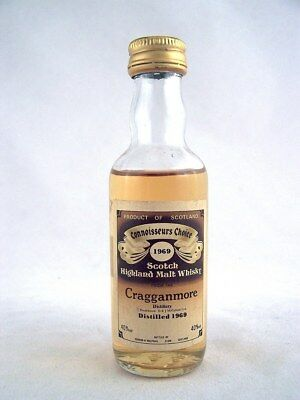 Miniature dated 1969 CRAGGANMORE Malt Whisky Isle of Wine